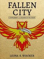 Fallen City ebook cover art