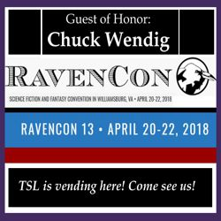 Headed out to RavenCon 2018
