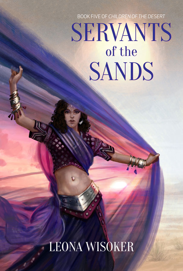 Servants of the Sands cover art