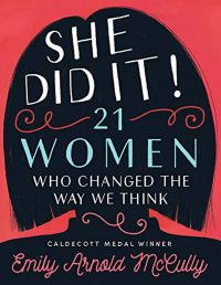 Cover Art for She Did It! by Emily Arnold McCully