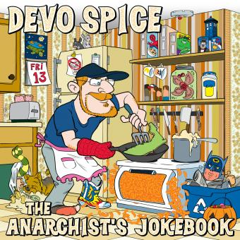 Cover art for album The Anarchist's Jokebook by Devo Spice