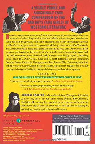 Literary Rogues back cover